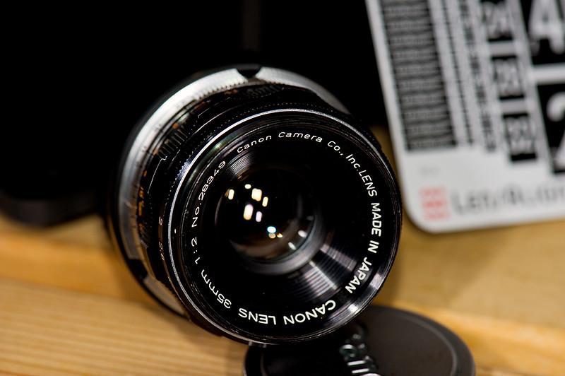 Canon 35mm f/2 LTM