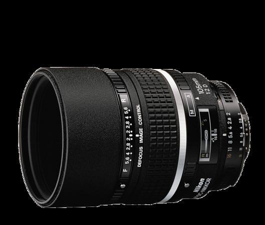 AF DC-Nikkor 105mm f:2D