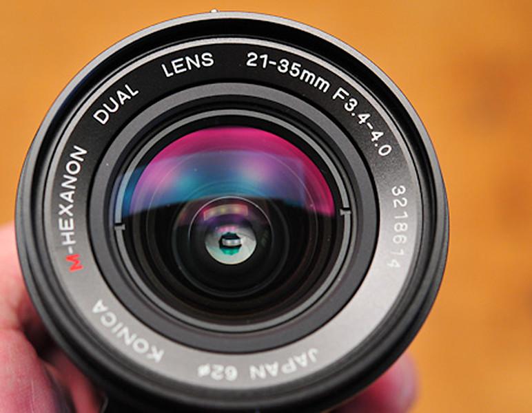 Konica M-Hexanon Dual 21-35mm f/3.4-4.0