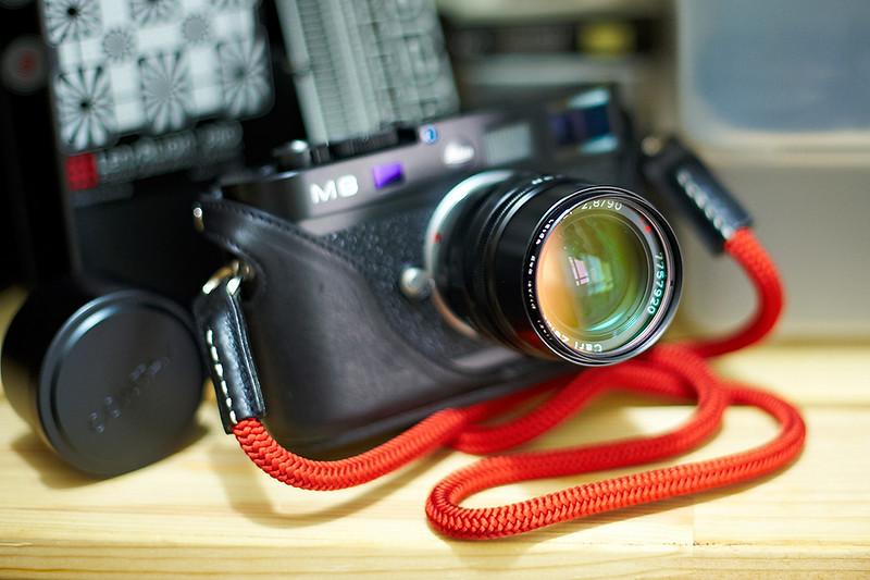 Contax Carl Zeiss G Sonnar T* 90mm f/2.8 (M-mount)