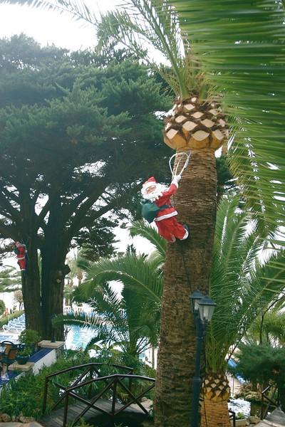 Santa Visits Spain