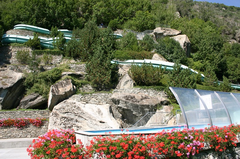Brigerbad Thermal Pool