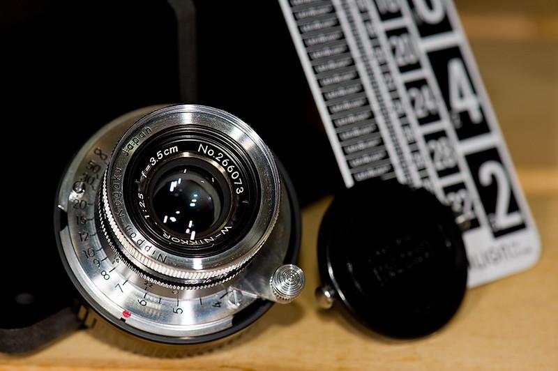 Nikkor 3.5cm f/2.5 LTM (Black Rim)