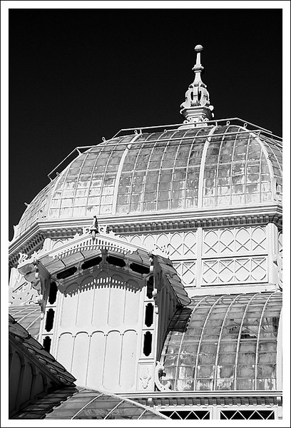 Conservatory of Flowers B&W