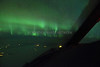 Northern Lights from 32,000 feet