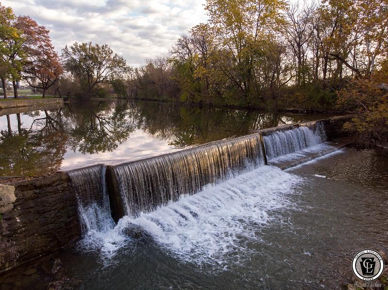1555 - Autumn 2018 - Mill Creek Dam in Mascott