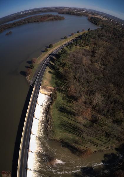 1559 - uasp - Lake Ontelaunee Dam Vertorama