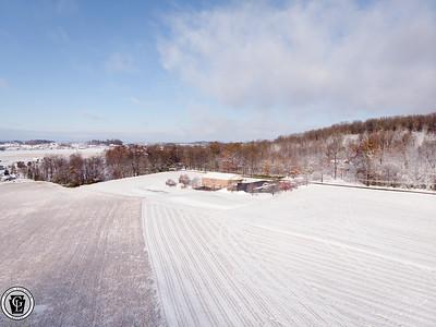 1566 - uasp - Snow Landscape Pequea Mennonite School