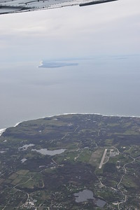 Eastern tip of Long Island, NY. From 4,000 ft over Block Island, I could see three states: NY, CT, RI