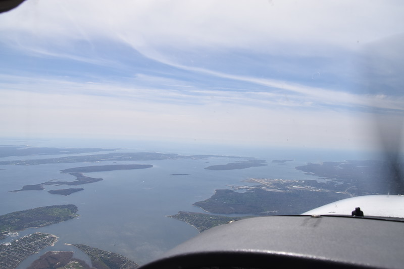 Rhode Island coast south of Providence