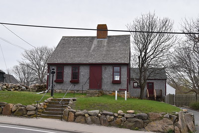 Classic New England architecture all across the island