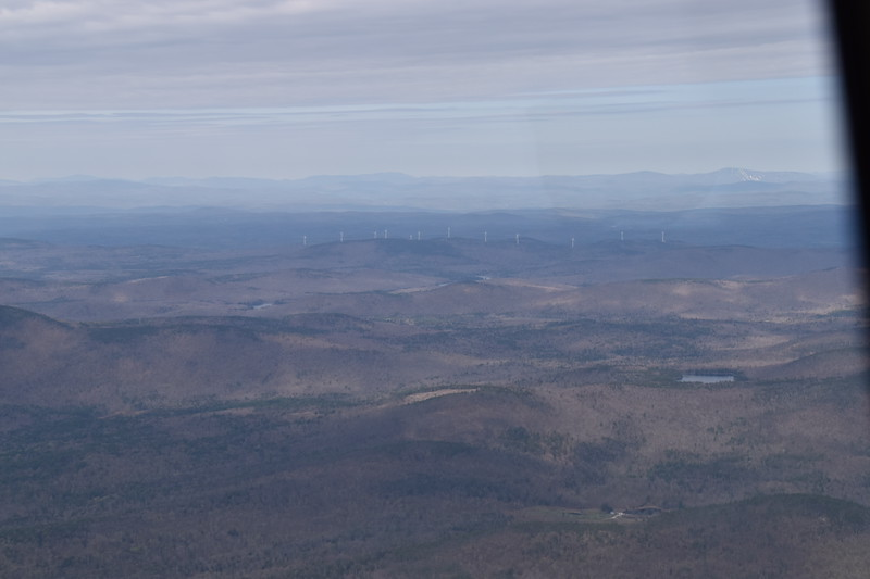 VT was the only state I visited that wasn't flat.