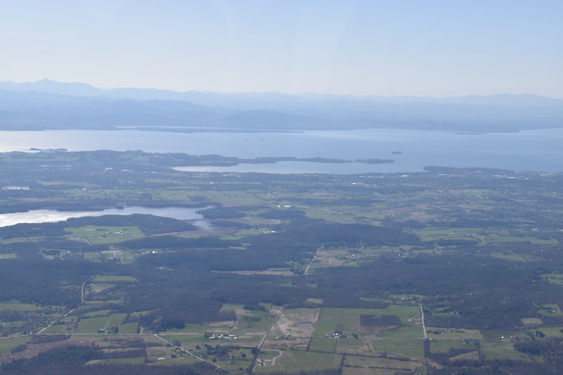 Shelburne Bay on Lake Champlain south of Burlington