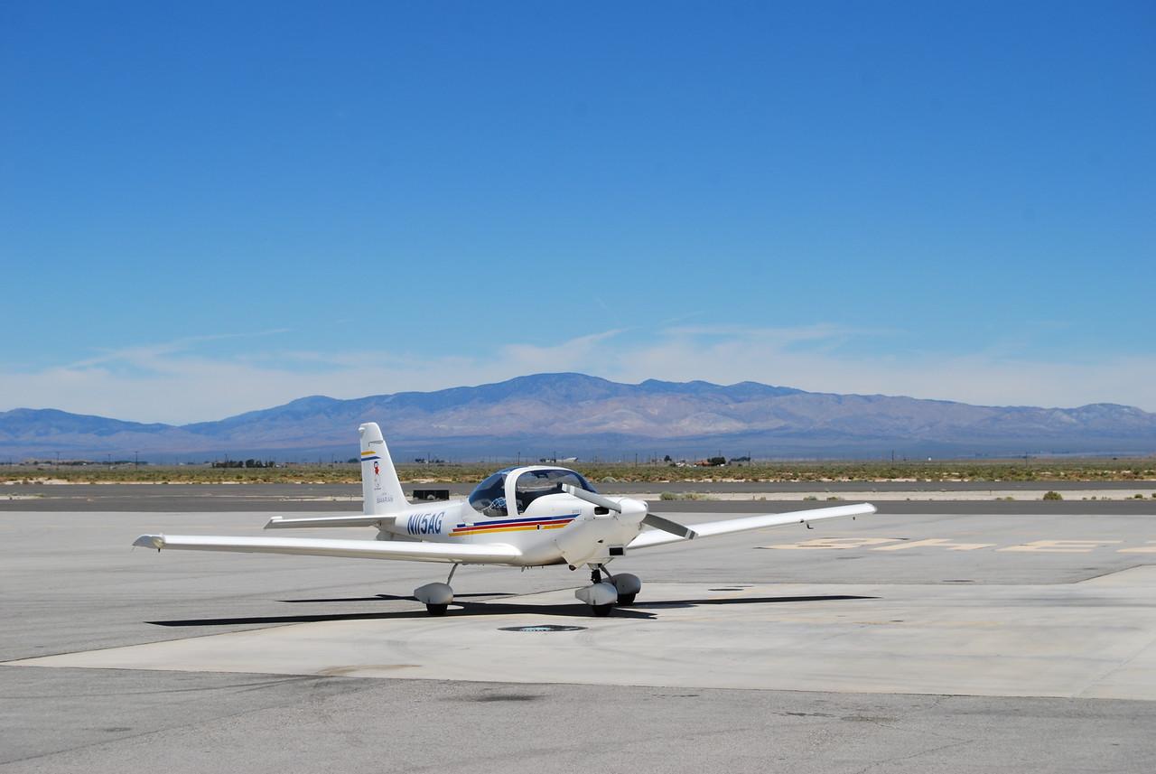 First fuel stop, Fox Field, Lancaster, CA