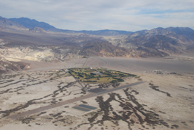 Furnace Creek resort and airport