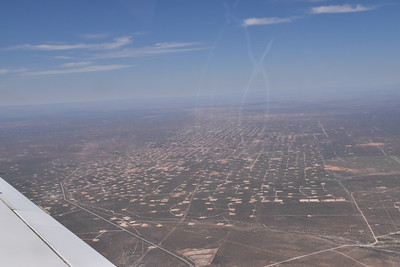 Many many west TX oil fields, near Midland, TX