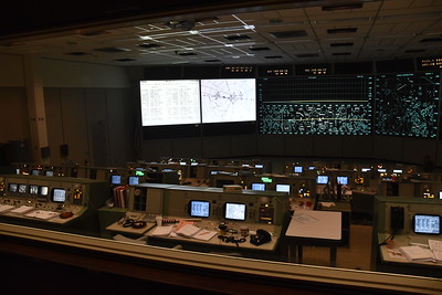 Restored Apollo Mission Control, with displays as they were during the Apollo 11 moon walk.