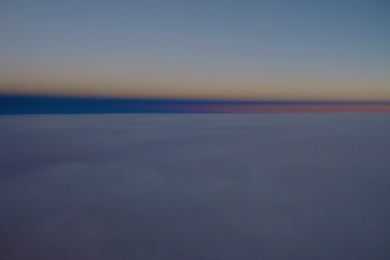 Earth Shadow and Belt of Venus at sunset