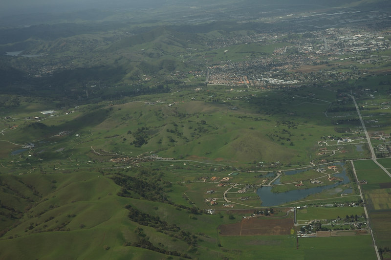 Aerial View somewhere near Salinas.