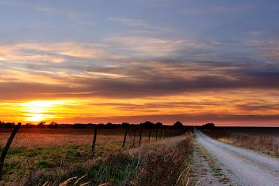 An Amazing Kansas Sunset!!