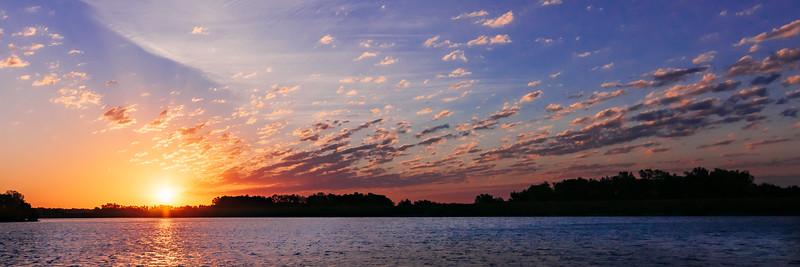 Sunrise over East Lake