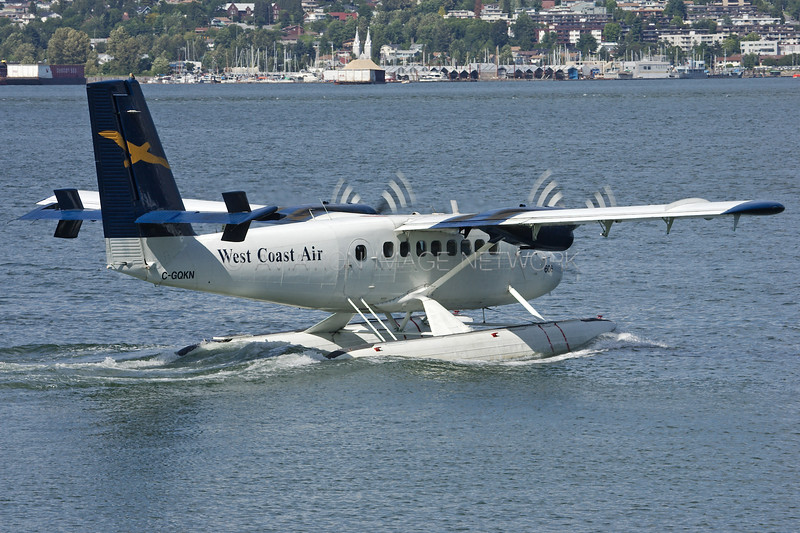 C-GQKN | de Havilland Canada DHC-6-100 Twin Otter | West Coast Air