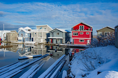 Ladner Reach in the Snow