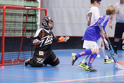 Albin Takala #30 Rydboholms SK vs Floda IBK, Coop Forum Cup 2015.