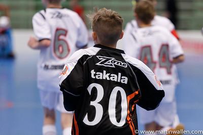 Albin Takala #30 uppvärmning Floda IBK vs IBK Lockerud, Coop Forum Cup 2015.