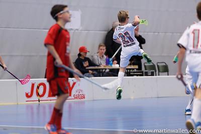 Elias Legneroth #21 glädje hopp! Floda IBK vs IBK Lockerud, Coop Forum Cup 2015.