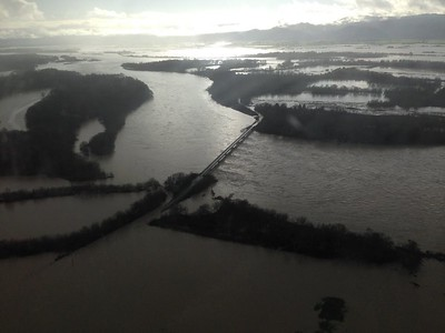 Flooding in Humboldt County