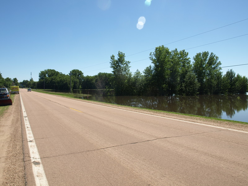 West of Carver County Road 23, north of Mayer, June 21, 2014.
