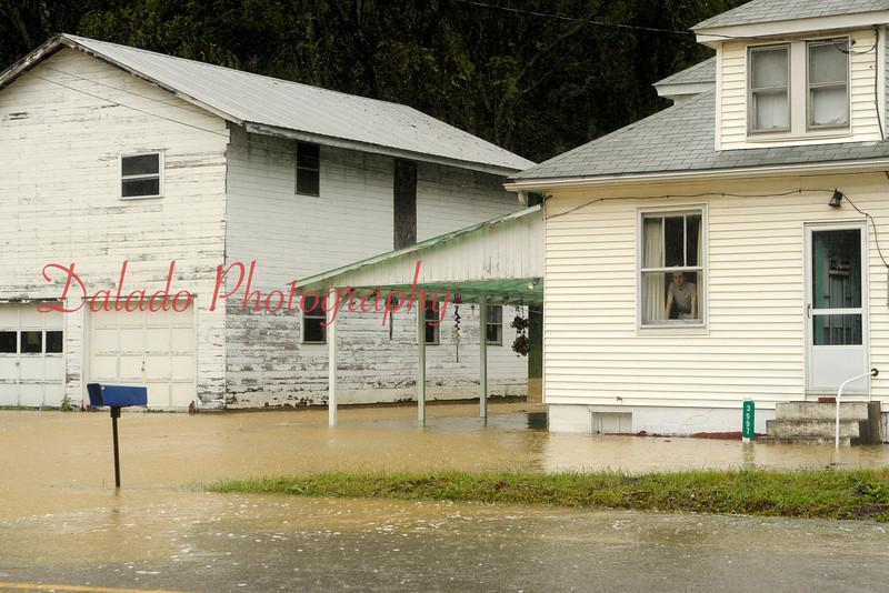 House along Rt. 61 near Stonington on Wednesday, Sept. 07.