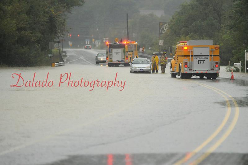 Rt. 487 near the intersection of Rt. 61 at Paxinos. near Glosser Motor Inn, Paxinos, on Wednesday, Sept. 07.
