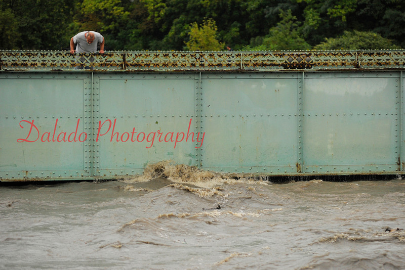 Shamokin Creek at the Walnut St. Bridge on Wednesday, Sept. 07.
