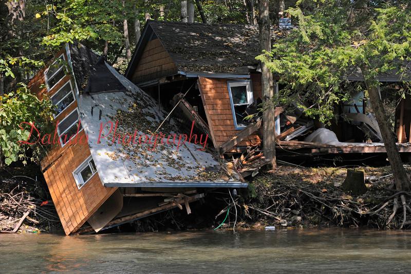 A cottage near Fishing Creek along Rt. 487.