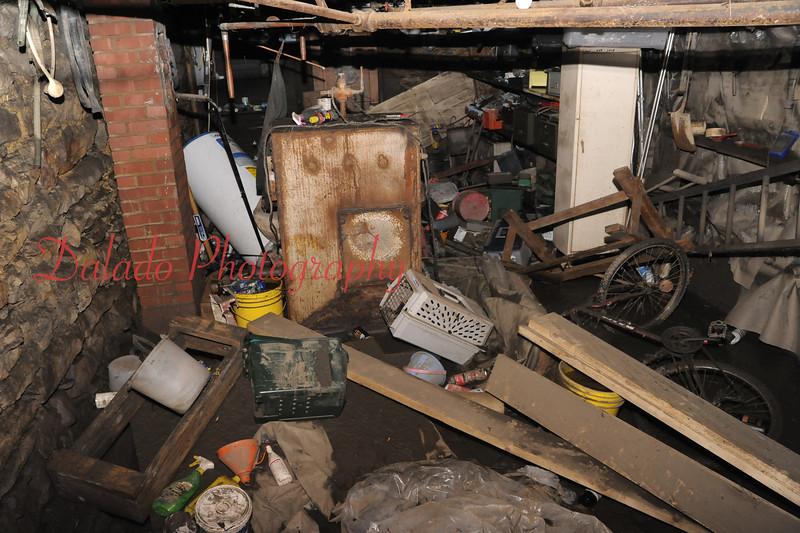 A basement on Second Street in Shamokin.