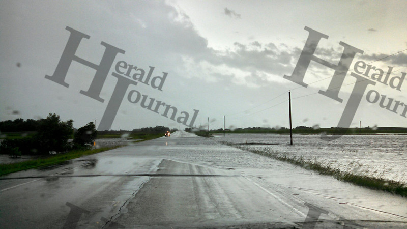 McLeod County Road  1 at 150th Street June 19, 2014