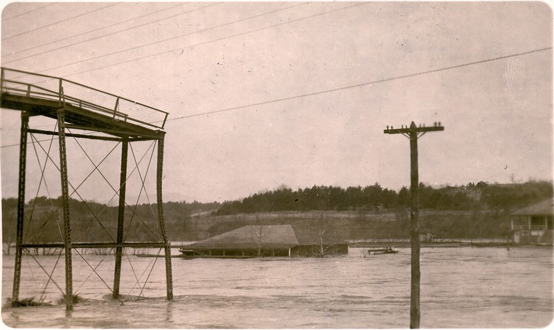 1913 Flood/James River near Lynchburg IX (06574)
