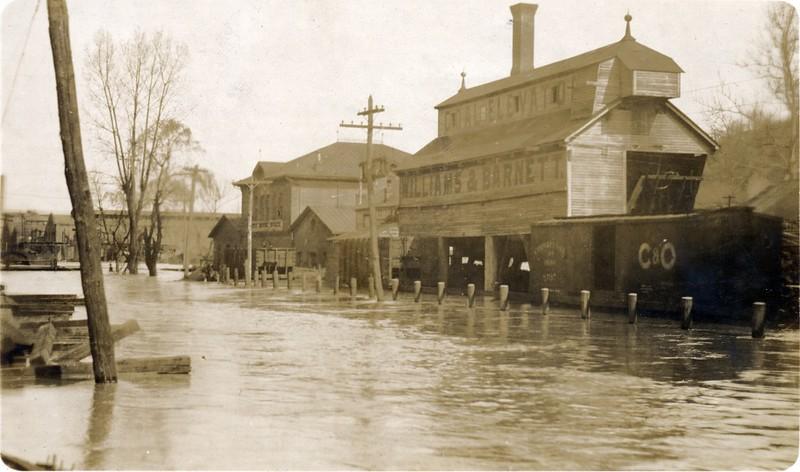 1913 Flood/James River near Lynchburg V (06570)