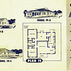 Lakewood Park, Floor Plans for Model 19 A, B, and C