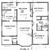Carson Park, Floor Plan for Model G