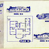 Lakewood Park, Floor Plans for Model 18 A, B, and C