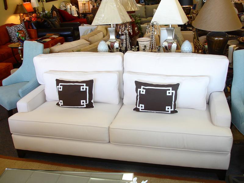 "Pottery Barn Seabury copycat sofa<br /> Williams Sonoma ""Harrison"" copycat sofa"
