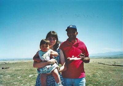 4/13/96 Arnold, Allison & baby Catherine