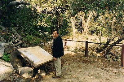 1/13/01 Mission Dam, Santa Barbara Botanic Garden, Santa Barbara County, CA
