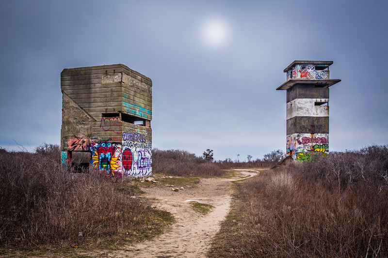 Graffiti on Abandoned Structures