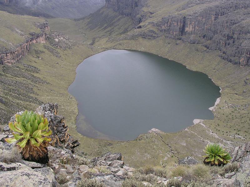 Lake Michaelson, Mnt. Kenya N.P.