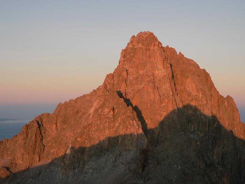 Point Lenana 4995m, Mnt. Kenya