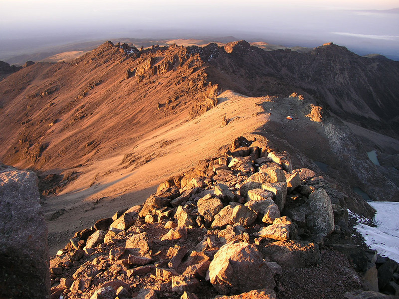Point Lenana 4995m, Mnt. Kenya